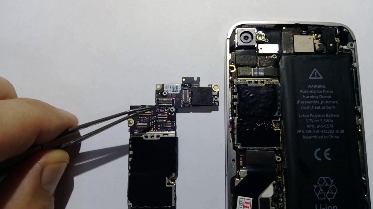 iphone 4 не включается после замены