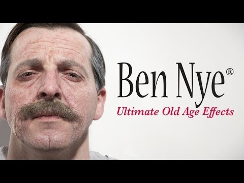 Ultimate Old Age Makeup Tutorial | Ben Nye Makeup