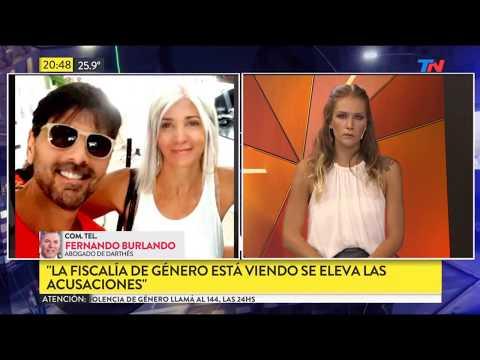 Comunicación telefónica con Fernando Burlando, abogado de Juan Darthes