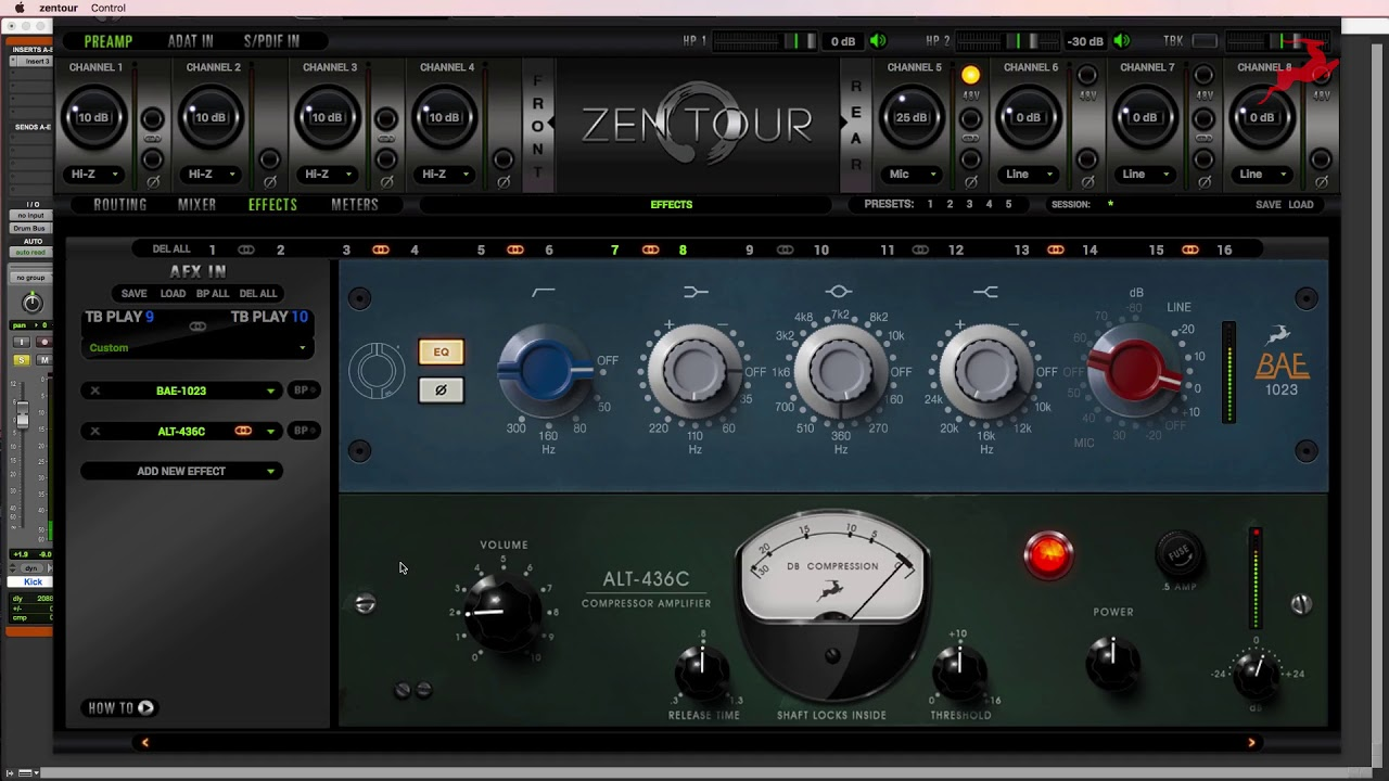 The Drum Bus - Mixing with the Antelope Audio FPGA FX