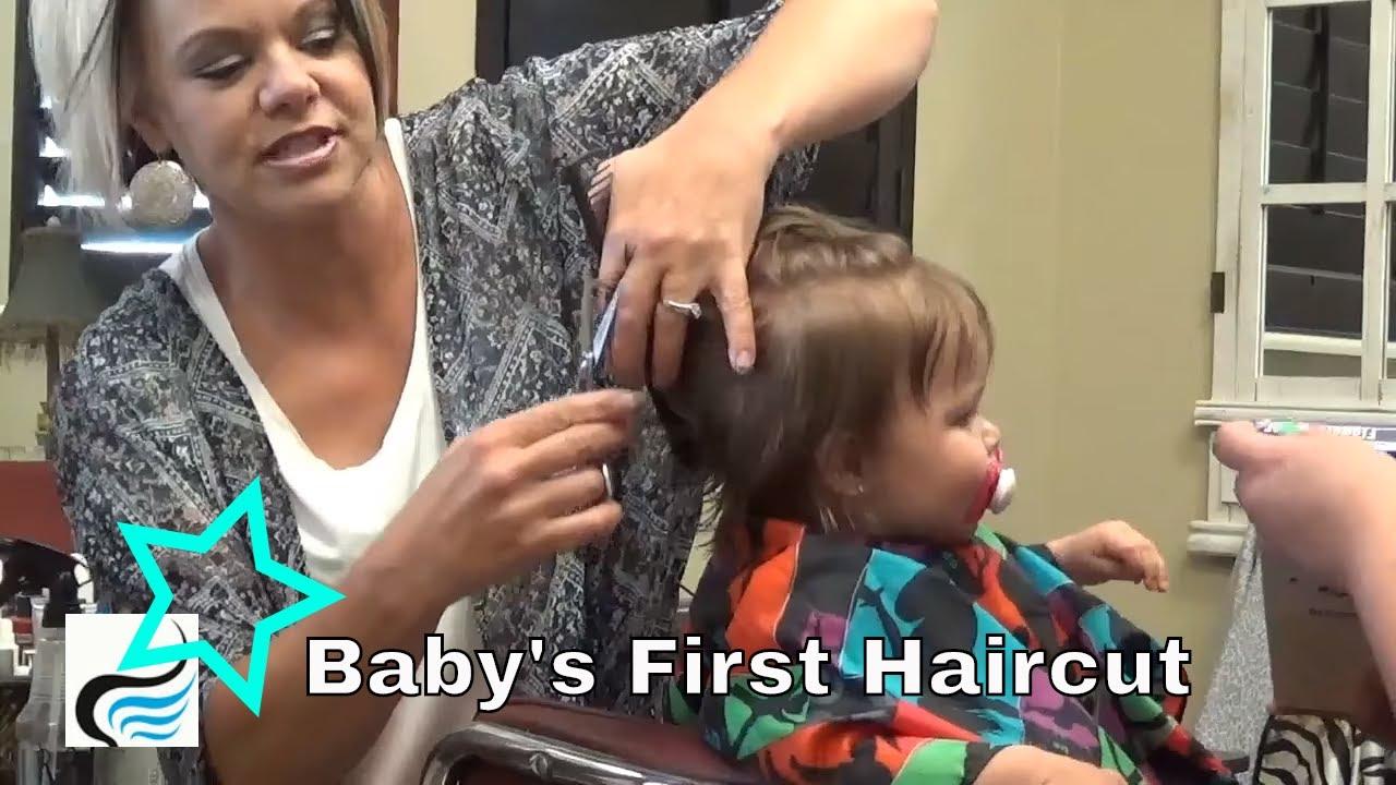 babies first haircut - my first haircut