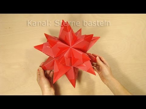 sterne falten bascetta stern basteln origami stern faltanleitung diy weihnachten youtube. Black Bedroom Furniture Sets. Home Design Ideas
