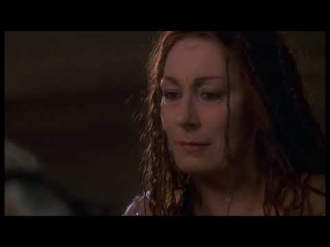 "Merlin Dies - ""The Mists of Avalon"" - Anjelica Huston"