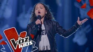 Anabelle canta Creo en Mi - Audiciones a Ciegas La Voz Kids Colombia 2019