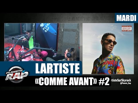 Youtube: Planète Rap – Lartiste«Comme Avant» avec Mizi #Mardi