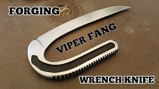 Forging The Viper Fang Knife