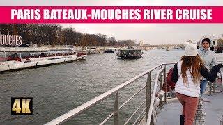 Paris Sightseeing Bateaux-Mouches Boat River Tour 4K