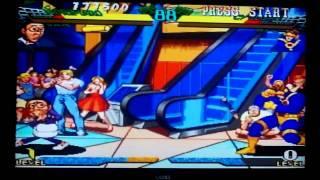 Marvel Super Heroes vs. Street Fighter - Saturn
