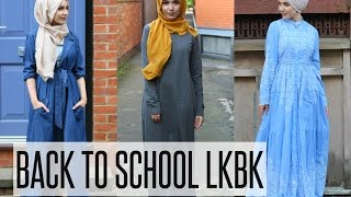 BACK TO SCHOOL LOOKBOOK | NABIILABEE