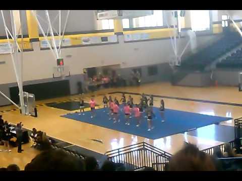 North Murray high school cheer leading teams