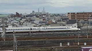 山陽新幹線 N700A 通過