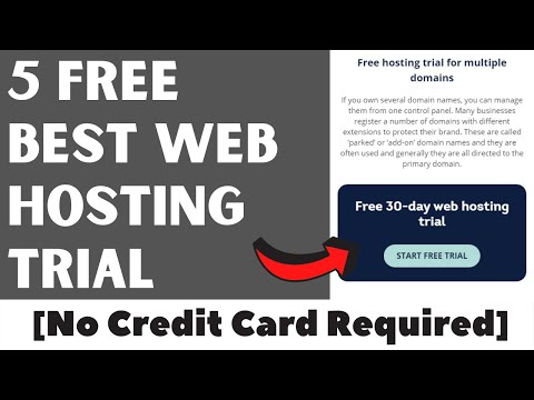 5 Best Web Hosting Free Trial 2020 [No Credit Card Required]