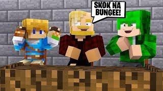 PRAWDA CZY WYZWANIE? SKOK NA BUNGEE?! l Minecraft BlockBurg