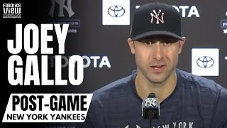 """Joey Gallo Reacts to Italian Fan Support in New York & Playing In Yankee Stadium """"Like A Dream"""""""