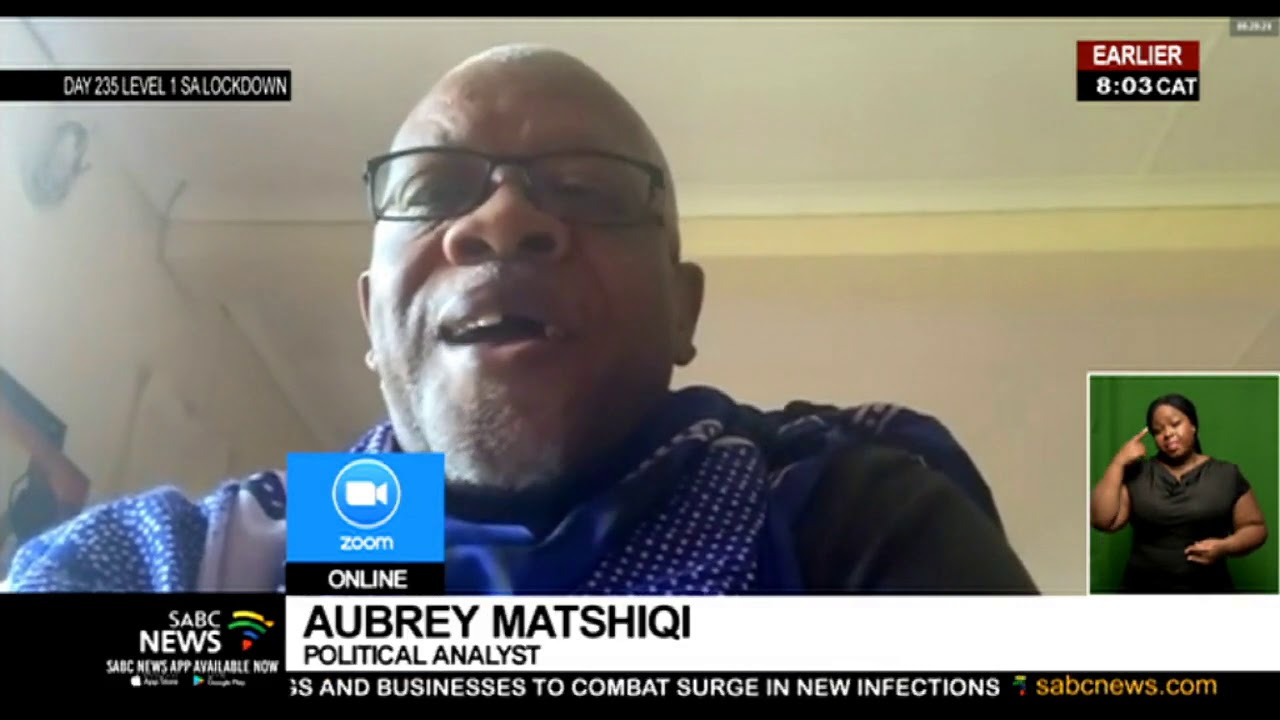 Download Zuma calls for Zondo's recusal: Political Analyst Aubrey Matshiqi breaks down the options