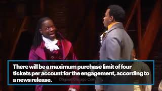 'Hamilton' single-ticket OKC on-sale date announced
