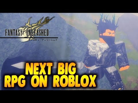 Next Best Rpg Game On Roblox First Look At Fantasy Unleashed In