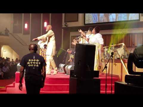 Ricky Dillard & New G  Amazing  McDonalds Gospel Tour