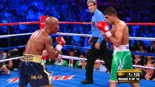 Khan vs Judah round 5, KO and aftermath