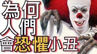 電影《牠》令人毛骨悚然的角色 ► 為何人們會恐懼小丑的歷史!