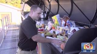 Giant 'big Taste Grill' Cooks Up Brats, Burgers For Game Day