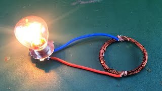 Free  energy generator Using Magnet With Copper Wire For Experiment 2019