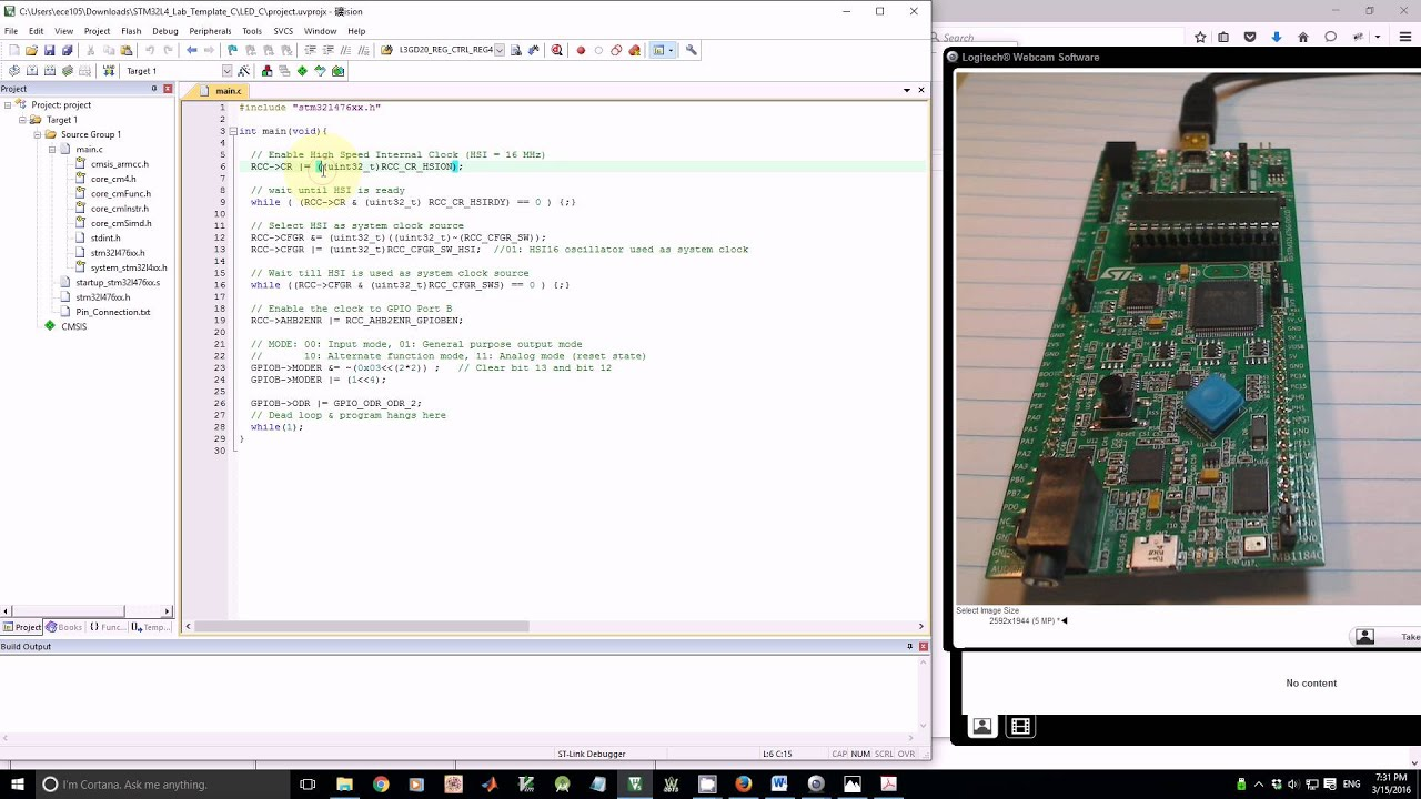Embedded Systems with ARM Cortex-M Microcontrollers in