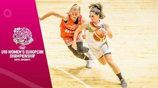 LIVE - Portugal v Croatia - FIBA U16 Women's European Championship Division B 2019