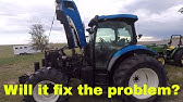 The problems with the New Holland TS115A - YouTube