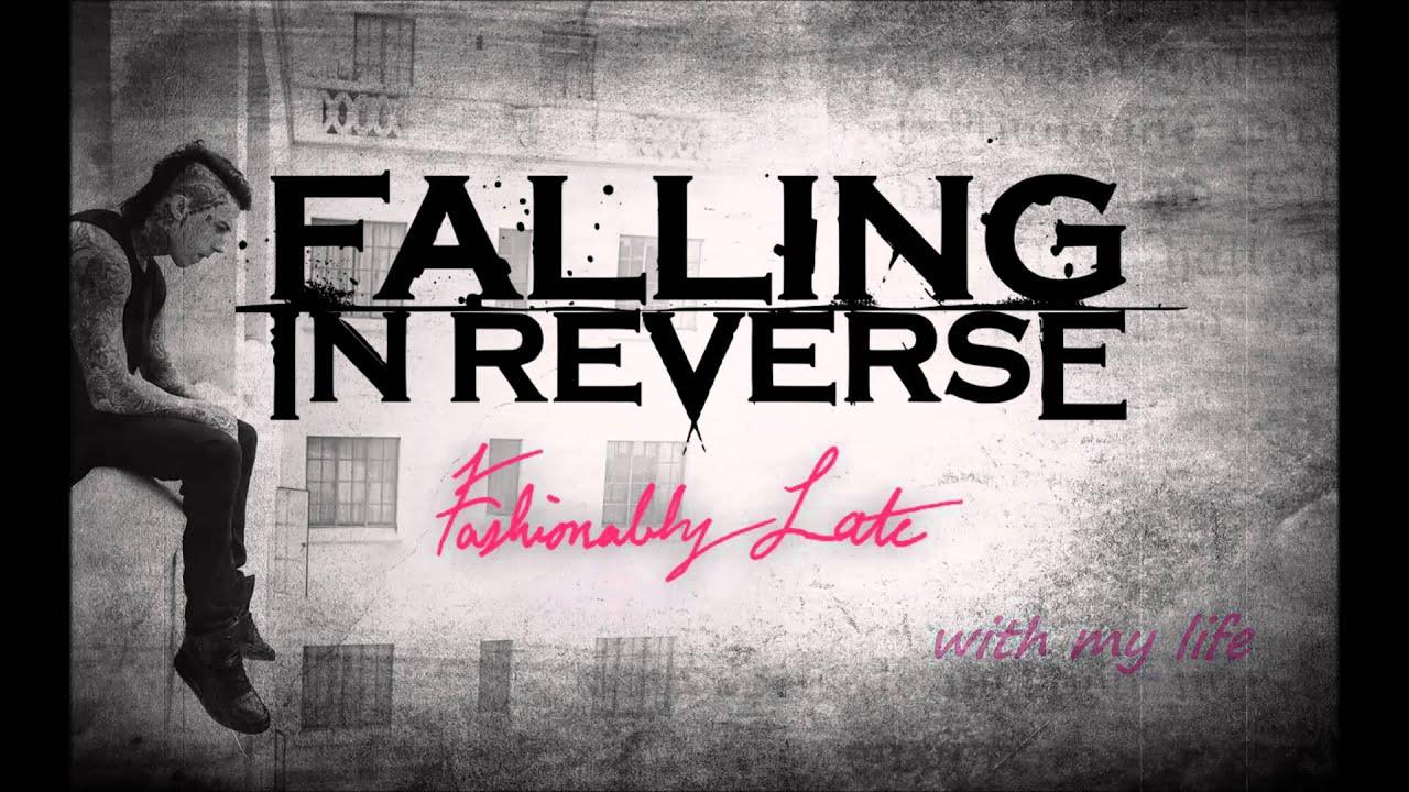 Wallpaper Falling In Reverse Falling In Reverse Game Over Lyrics On Screen Youtube