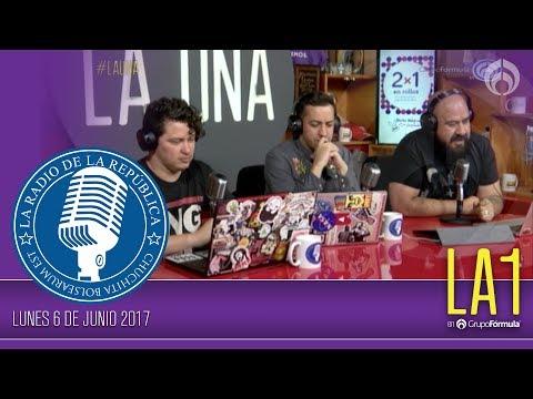 #LA1 - El PRI y U2: Vivimos en los 90´s - La Radio de la República - @ChumelTorres