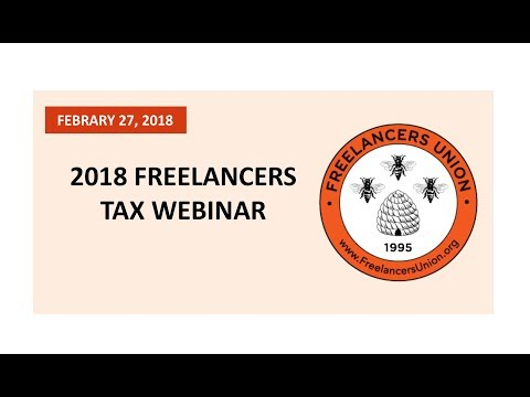 Tax Tips for Freelancers - 2018 Edition