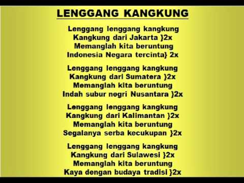 Cover Lagu Lagu dan Tari Nusantara: LENGGANG KANGKUNG - Lagu Anak STAFABAND