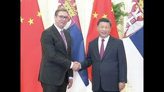 Chinese President Xi Jinping Meets Serbian Counterpart On Bilateral Ties