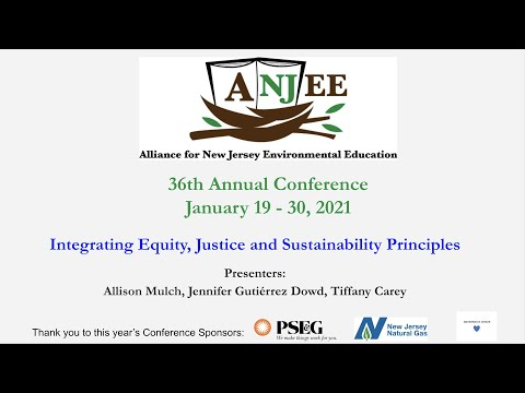 Integrating Equity, Justice and Sustainability Principles - ANJEE