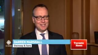 CBC News Coverage on Steinway Spirio Launch
