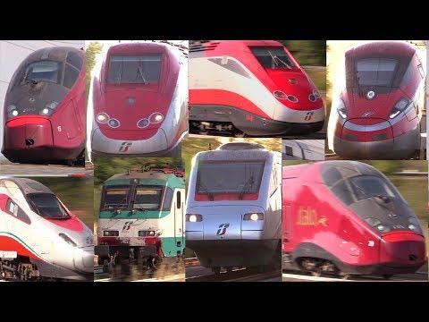 Treni Alta Velocità • Estate 2017 • Orte, Ceccano, Chiusi, Colleferro, Roma Est •