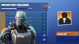 """NEW """"A.I.M."""" SKIN IN FORTNITE! - NEW HEAVY AR AVAILABLE NOW! (Fortnite Battle Royale Live)"""