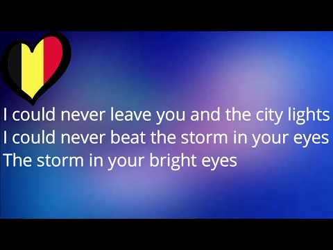 Blanche - City Lights (Eurovision 2017 Belgium) [Karaoke Version With Lyrics!]
