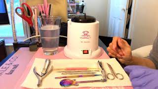 Sterilizing Your Nail Equipment