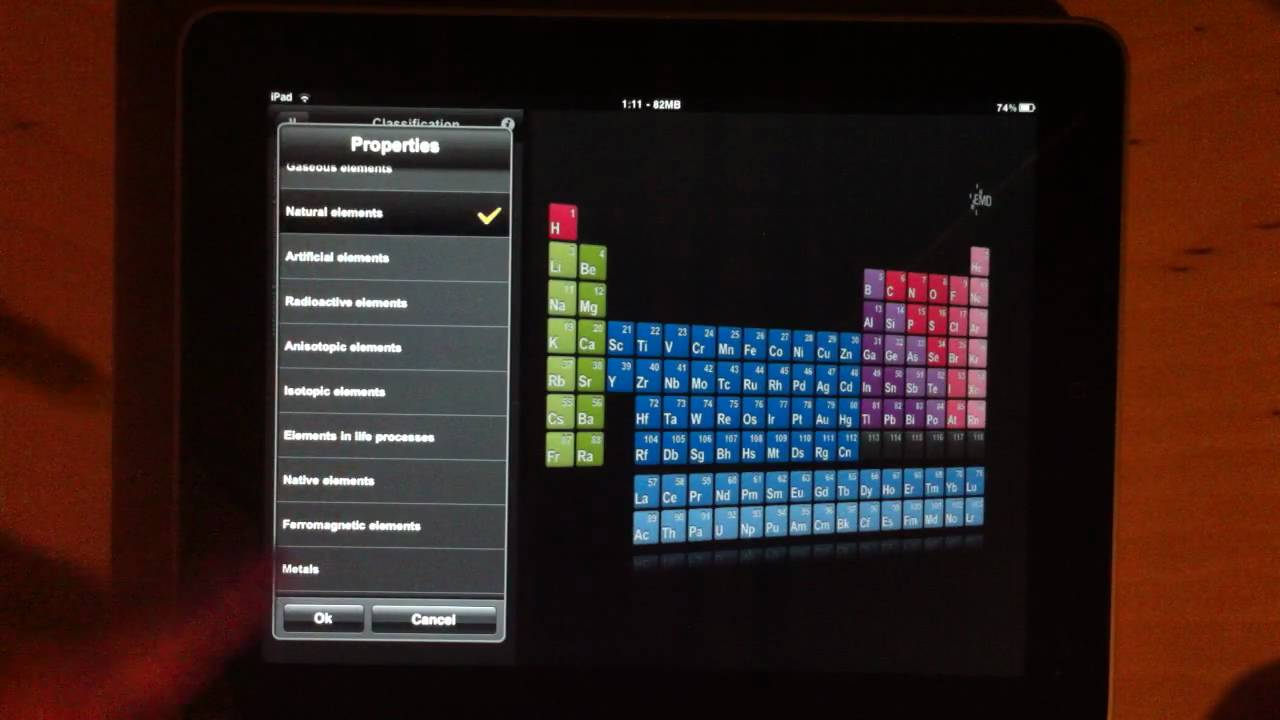 Emd pte free periodic table app demonstration on ipad youtube emd pte free periodic table app demonstration on ipad urtaz Gallery