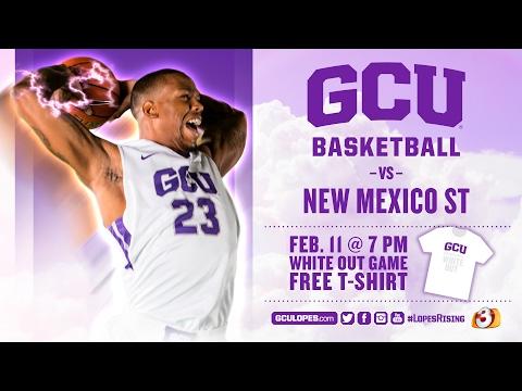 Men's Basketball vs New Mexico State Feb 11th, 2017