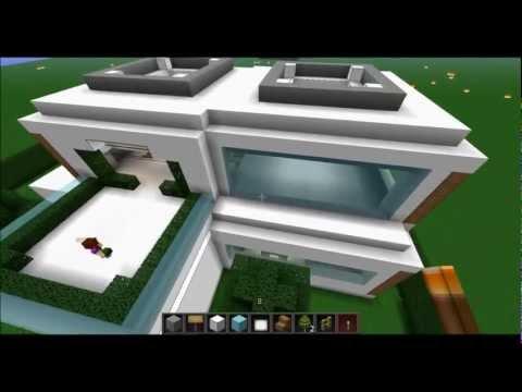Minecraft let 39 s build modernes haus hd doovi - Minecraft haus einrichten ...