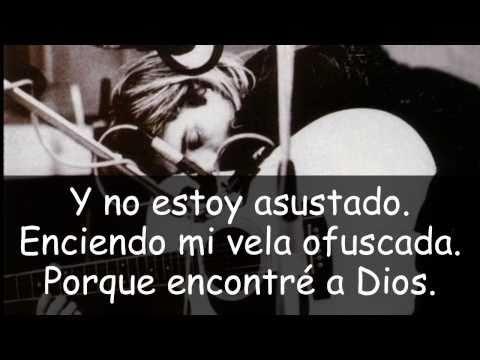 Nirvana - Lithium traducida en español con fotos de Kurt Cobain.