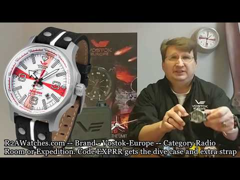 Keep Watching Vostok-Europe Expedition North Pole and Radio Room Show