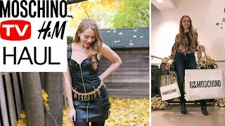 MOSCHINO for H&M SHOPPING HAUL + Try-On & Collection Review   Nataliastyle