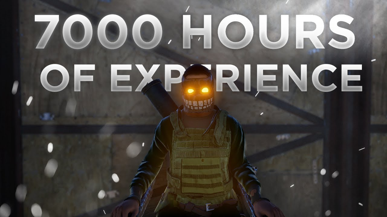 THIS IS WHAT 7000 HOURS OF RUST EXPERIENCE LOOKS LIKE