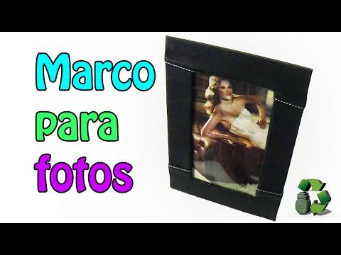 Como hacer Marcos para fotos para Hombres (Reciclaje) Ecobrisa ...