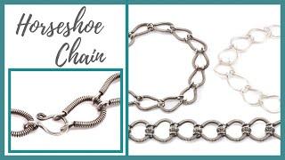 Horseshoe Chain - Beaducation.…