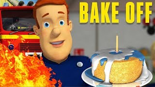 Fireman Sam US New Episodes HD | SPECIAL 🌟 Sam's Birthday! | Pontypandy Bake Contest 🚒 🔥 Kids Movies